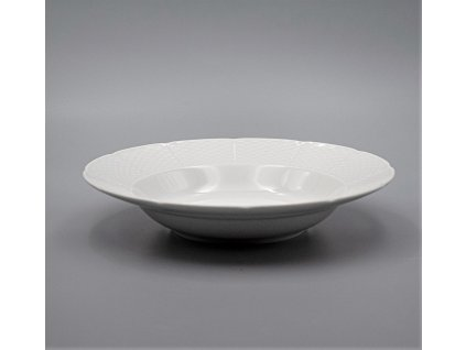 NATÁLIE, Talíř hluboký 23 cm, bílá, Thun