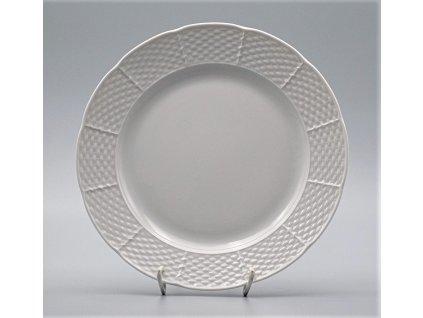 NATÁLIE, Talíř mělký 24 cm, bílá, Thun