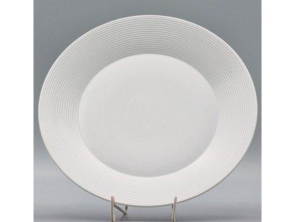 LEA, Mísa mělká kulatá 30 cm, bílá, Thun