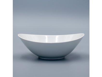 LOOS, Mísa kompotová 18 cm, bílá, Thun