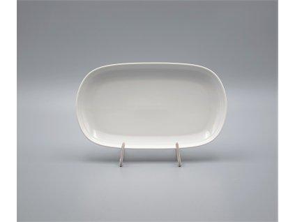 TOM, Mísa oválná 23 cm, bílá, Thun