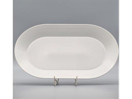 LEA, Mísa oválná 38 cm, bílá, Thun