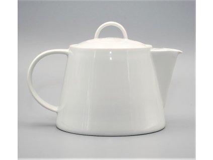 Konvice čajová 1,30 TOM bílá
