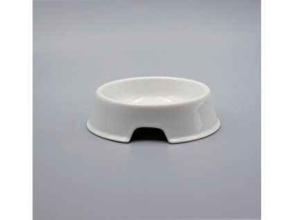 Miska pro psa 15 cm, bílá, Thun