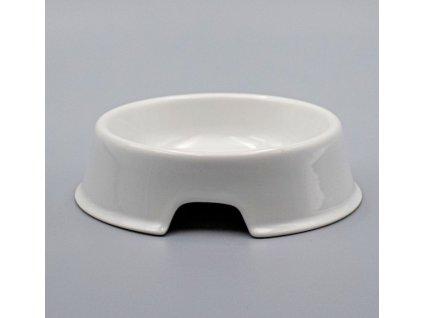 Miska pro psa 22 cm, bílá, Thun