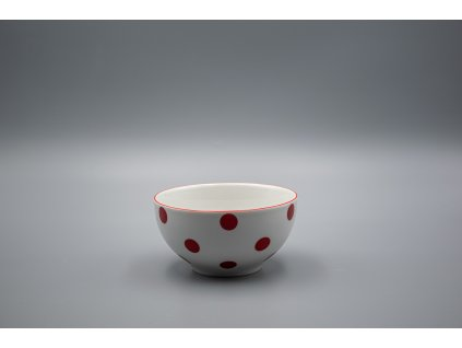 Miska VITAL 700 ml, červený puntík, Thun