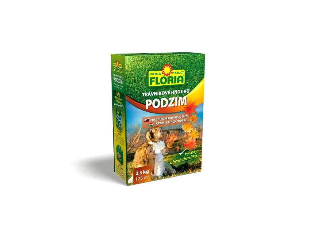 Podzimní trávníkové hnojivo 2,5 kg  Trávníkové hnojivo PODZIMNÍ