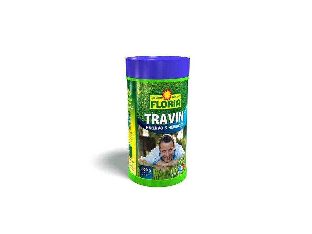 Trávníkové hnojivo s herbicidy TRAVIN 4 kg  TRAVIN - Trávníkové hnojivo s HERBICIDY