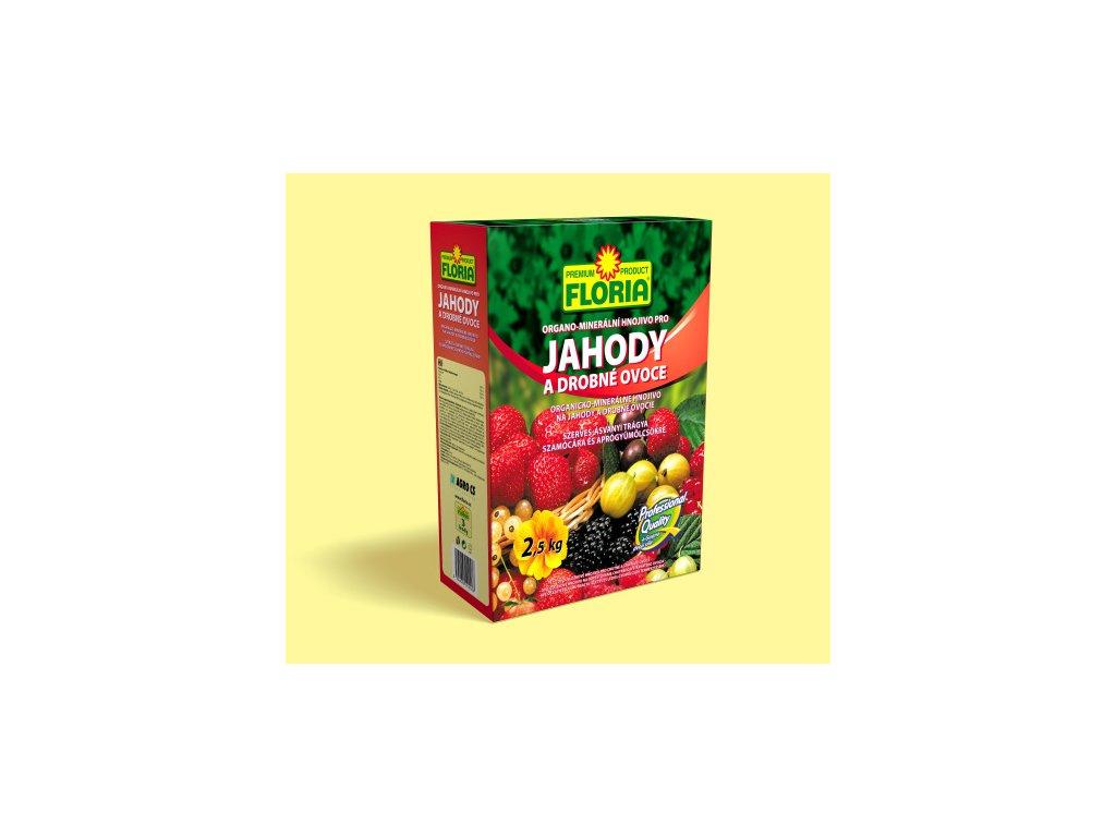 Organo-minerální hnojivo pro jahody a drobné ovoce 2,5 kg  Organo-minerální hnojivo pro JAHODY a DROBNÉ OVOCE
