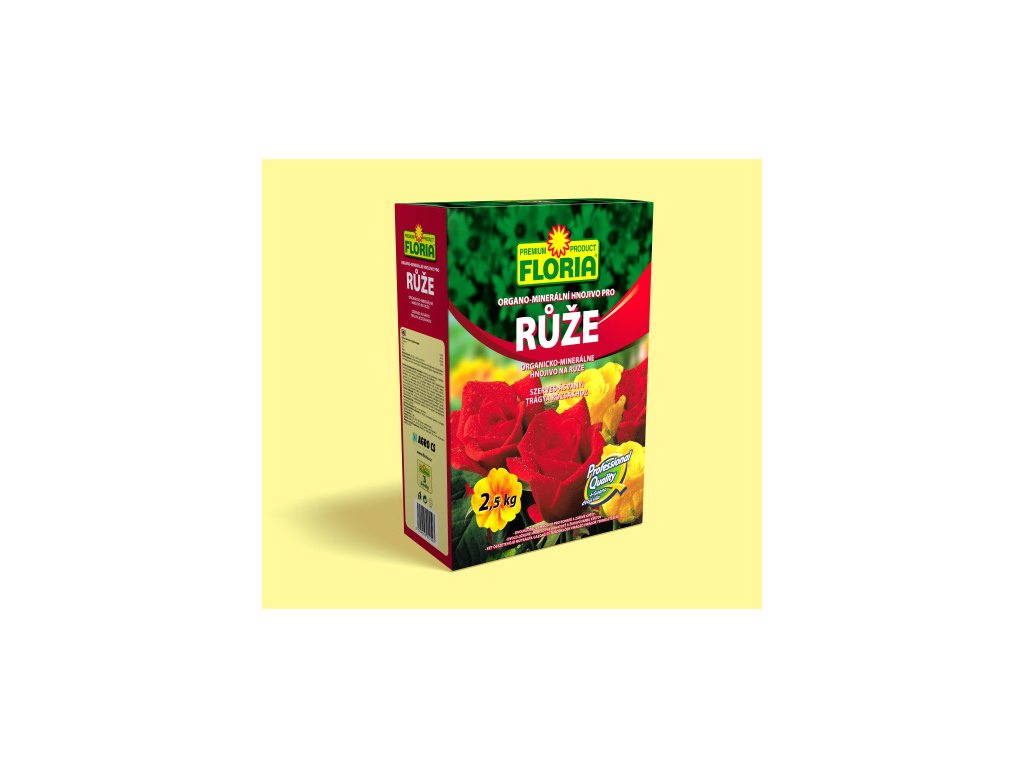 Organo-minerální hnojivo pro růže 2,5 kg  Organo-minerální hnojivo pro RŮŽE