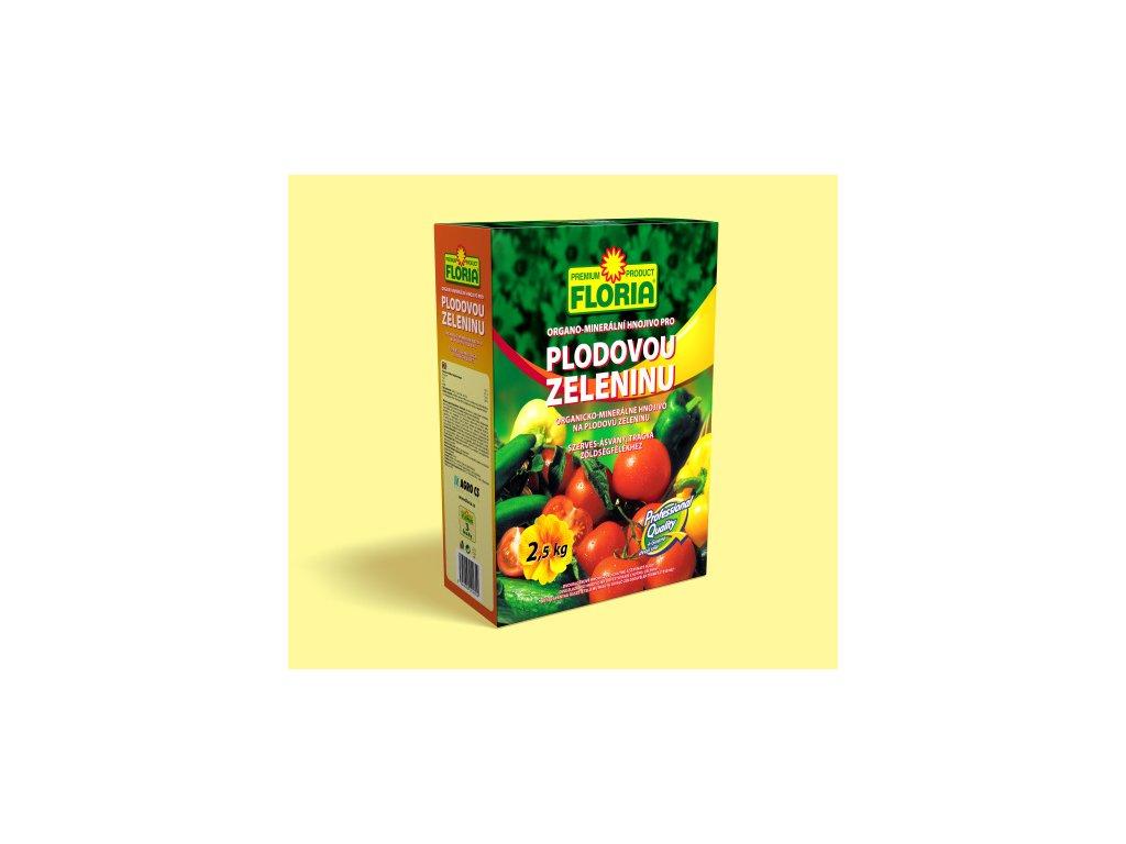 Organo-minerální hnojivo pro plodovou zeleninu 2,5 kg  Organo-minerální hnojivo pro PLODOVOU ZELENINU