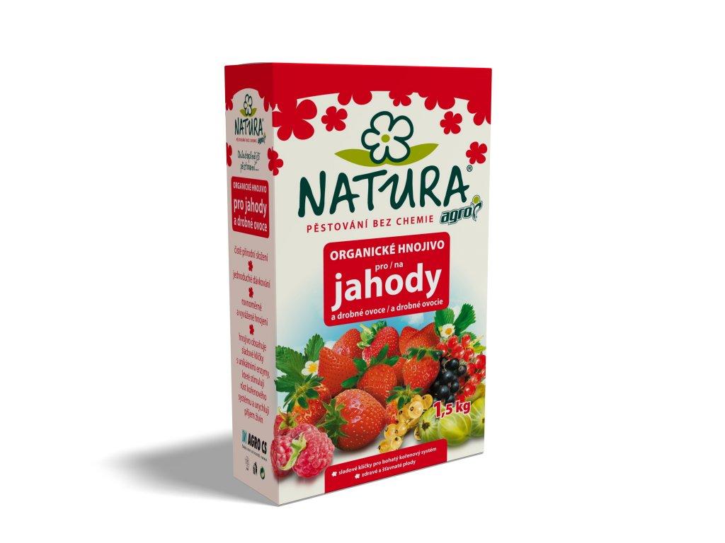 NATURA Přírodní organické hnojivo pro JAHODY A DROBNÉ OVOCE 1,5 kg  Přírodní hnojivo pro JAHODY a DROBNÉ OVOCE Natura