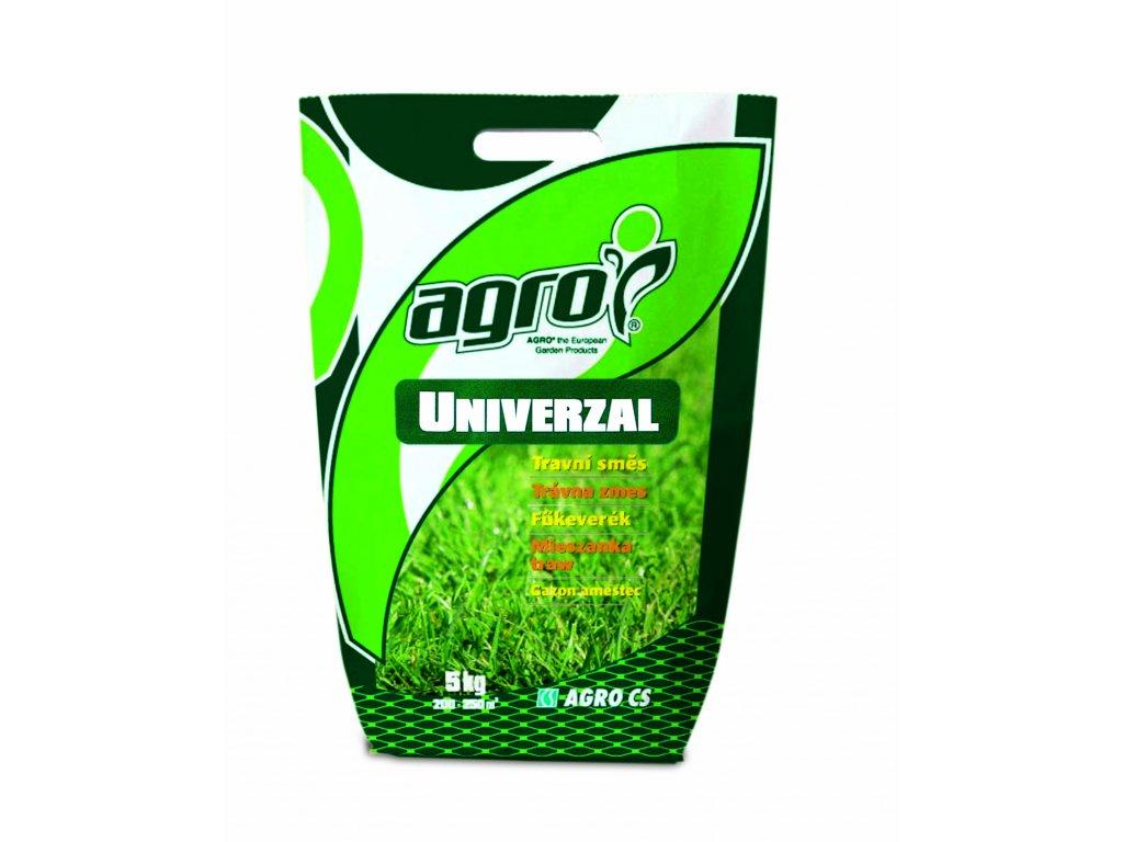 Agro Travní směs UNIVERZÁL - taška 5 kg  Travní směs UNIVERZÁL