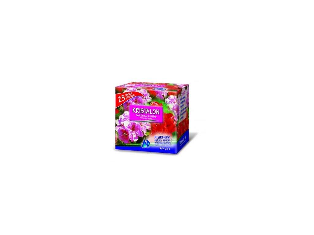 Kristalon BALKÓNOVÉ KVĚTINY 25x10 g  Hnojivo pro balkónové květiny (25 sáčků)