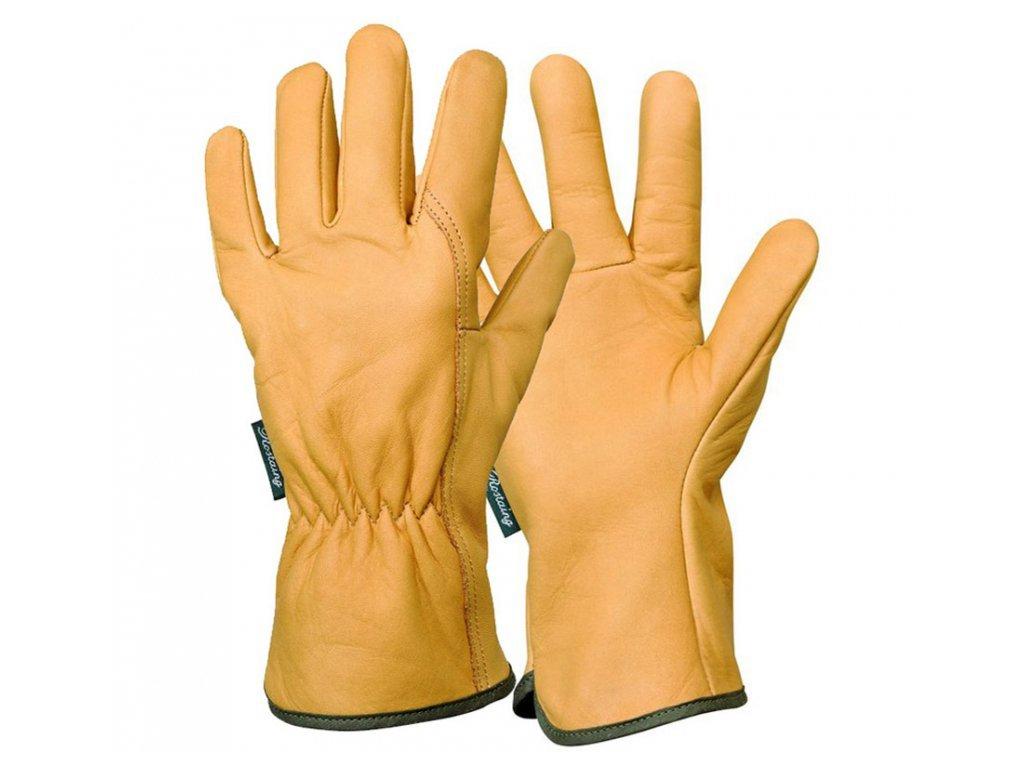 Unisex kožené zahradní rukavice EPS28A  Rukavice dámské a panské EPS28A