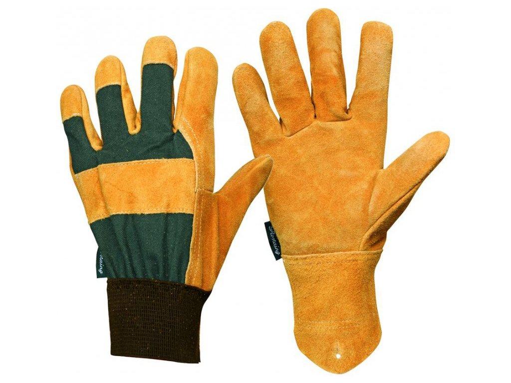 Pánské kožené zahradní rukavice Chene  Rukavice Chene