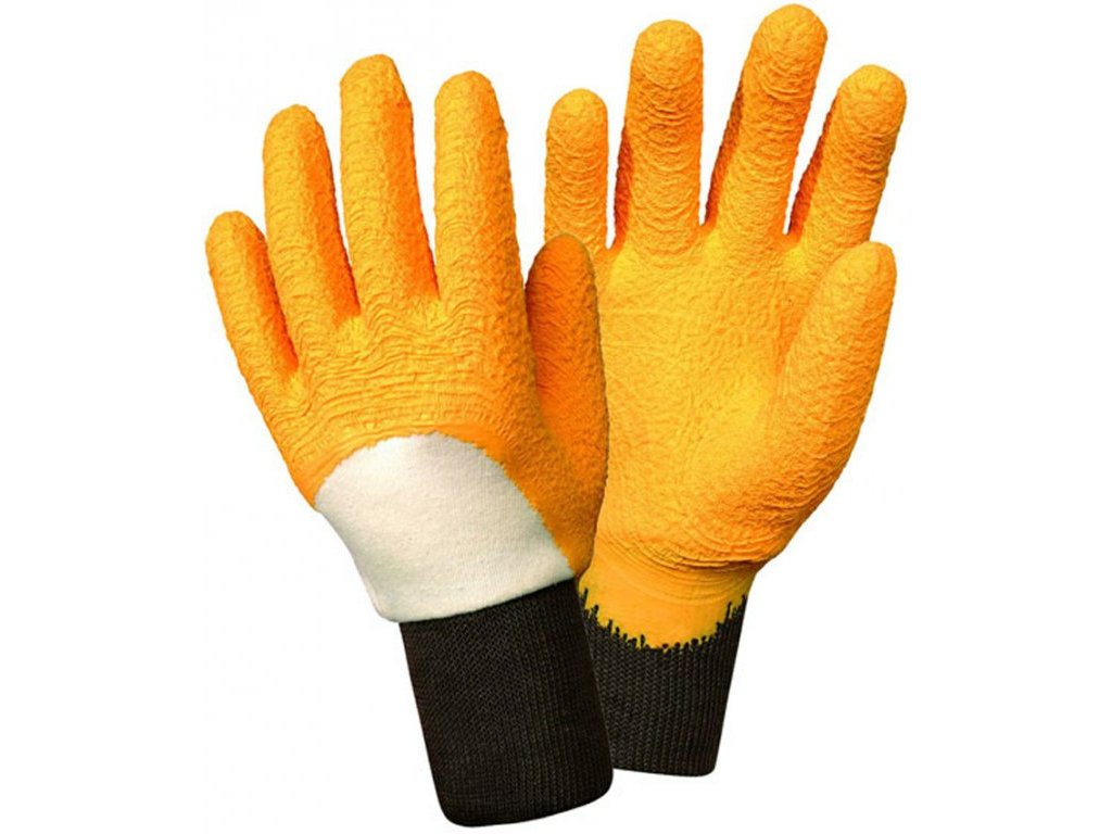 Dámské zahradní rukavice Rosier - žluté  Rukavice Rosier - žluté