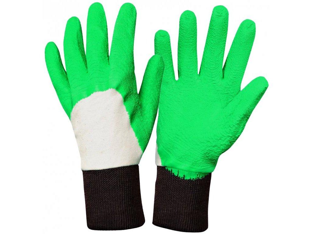 Pánské zahradní rukavice Rosier - zelené  Rukavice Rosier - zelené