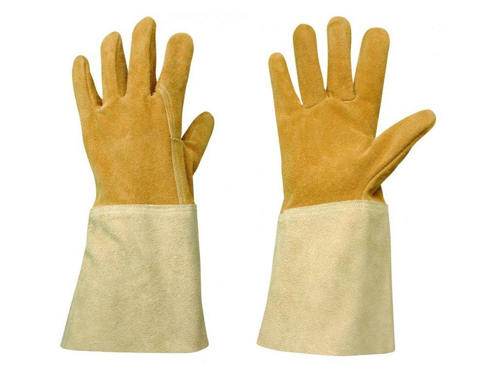 Pánské kožené zahradní rukavice Rosieriste  Rukavice Rosieriste