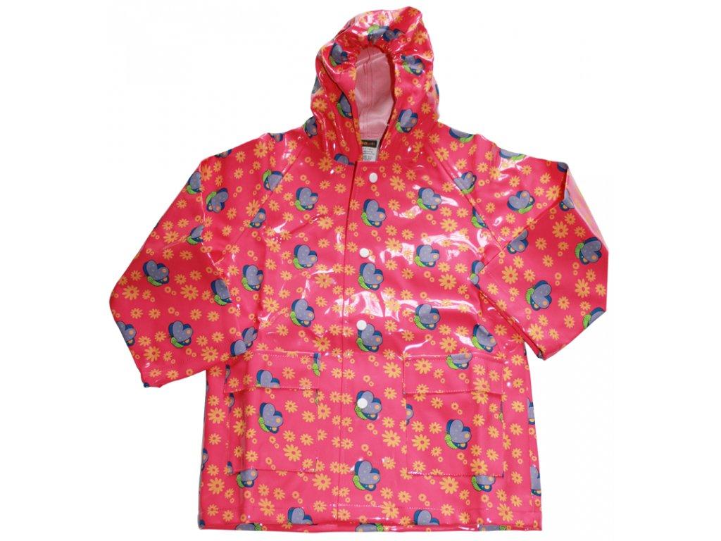 Dětská pláštěnka s motivem motýla  Dětská pláštěnka