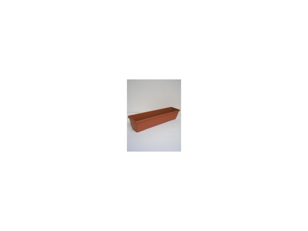 Truhlík IRIS - terracota 80 cm  Truhlík plastový IRIS 80 cm