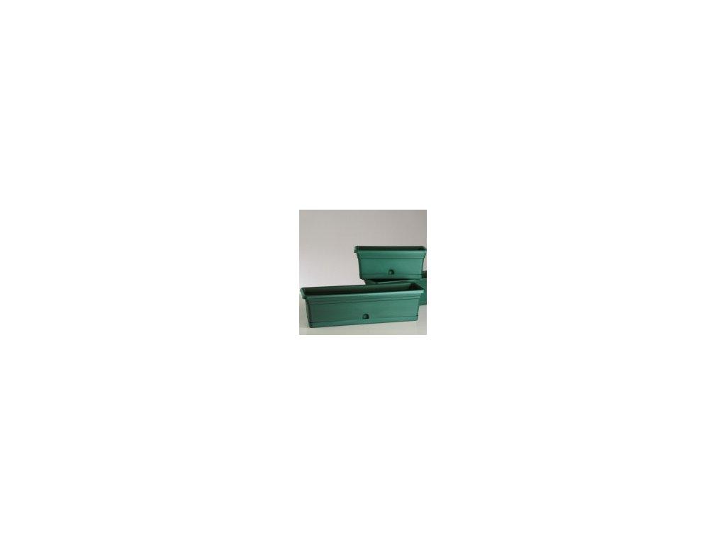 Truhlík MELISSA - zelená 60 cm  Truhlík plastový MELISSA 60 cm