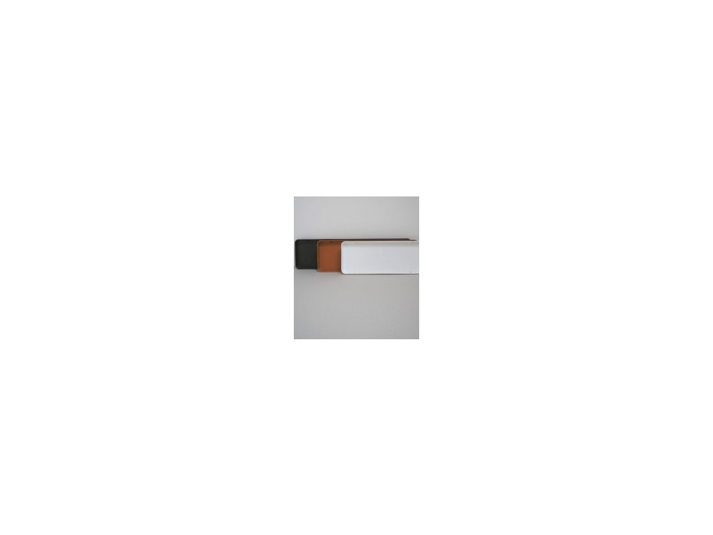 Miska pod truhlík (bílá, hnědá, terracota) 60 cm  Miska pod truhlík