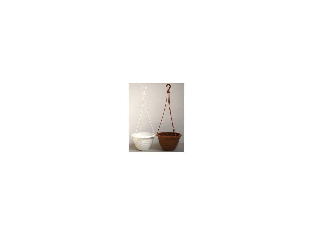 Závěsný květináč / obal Tivoli 20 cm  Tivoli závěsný květináč obal v barvě terracota