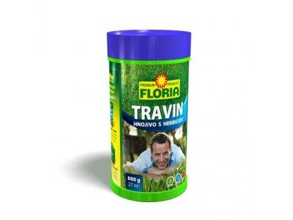Trávníkové hnojivo s herbicidy TRAVIN 0,8 kg  TRAVIN - Trávníkové hnojivo s HERBICIDY