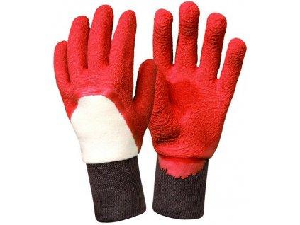 Dámské zahradní rukavice Rosier - červené  Rukavice Rosier - červené