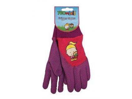 Dětské zahradní rukavičky holčička  Rukavice Holčička