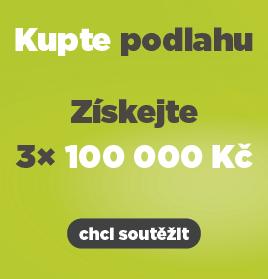 DOBRÉ PODLAHY - Soutěž o 3x 100 000 Kč