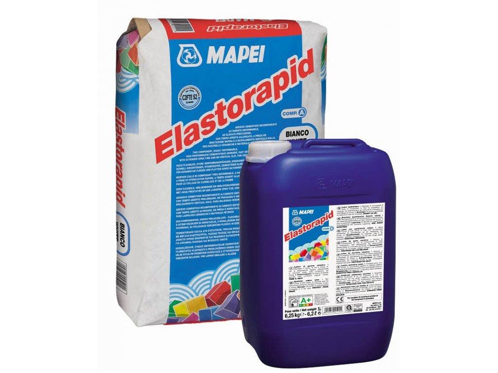 MAPEI Elastorapid bílý A+B C2F TE S2 31,25kg