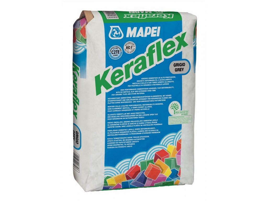 MAPEI Keraflex šedý C2TE 25kg