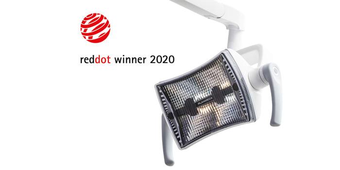 Operační světlo Planmeca Solanna™ Vision získalo ocenění v soutěži Red Dot Award: Product design 2020