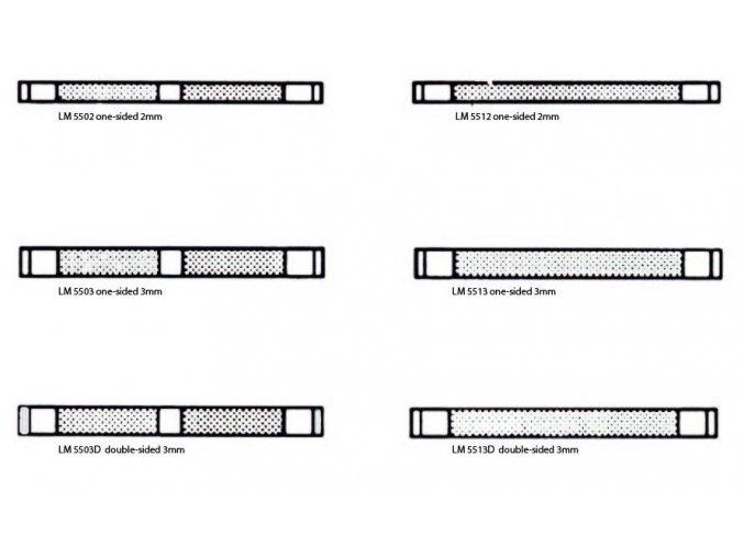 Cello Stripholder Strip selection