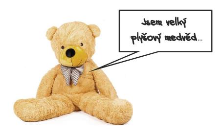 plyšový medvěd