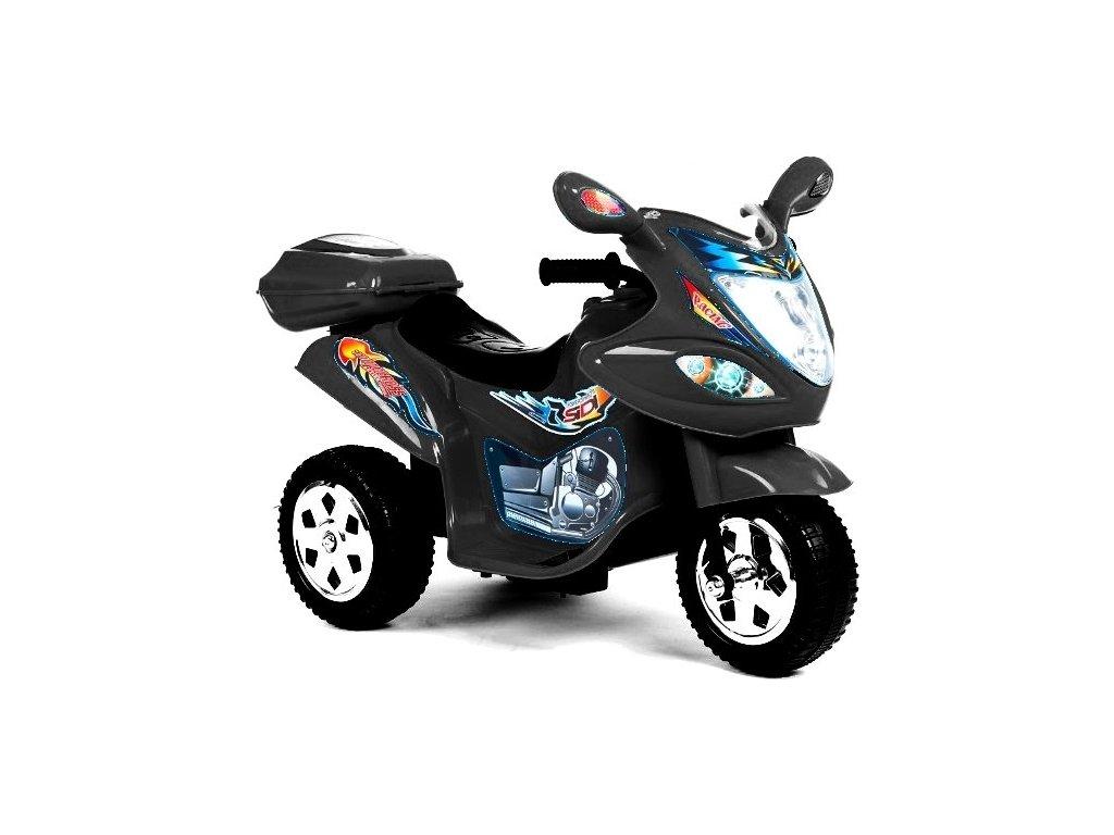 Elektrická tříkolka Racing Black