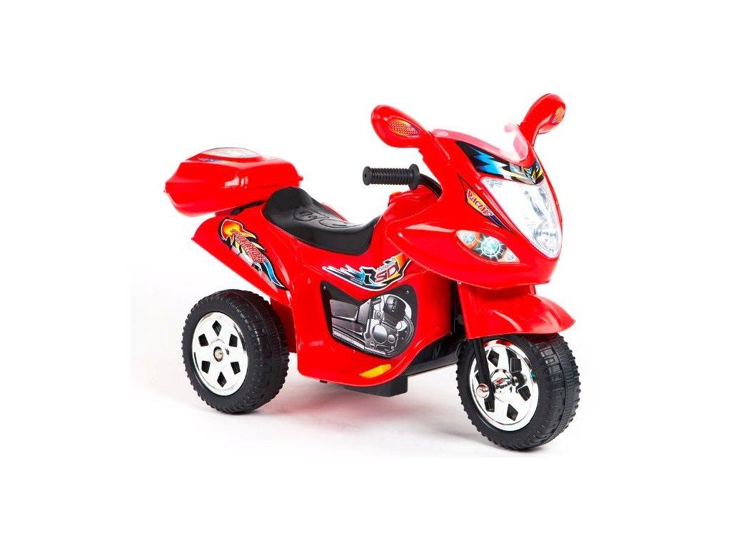 Elektrická tříkolka Racing Red