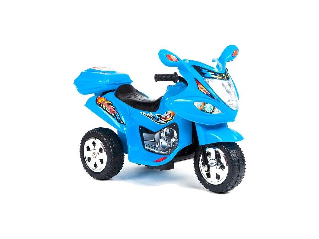 Elektrická tříkolka Racing Blue