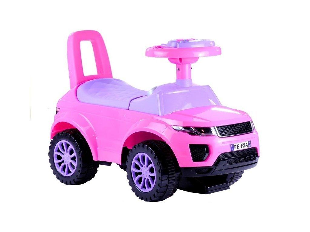 Odrážedlo Range Rover SUV růžové