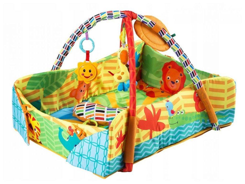 Ecotoys hrací deka 3v1 Veselý cirkus