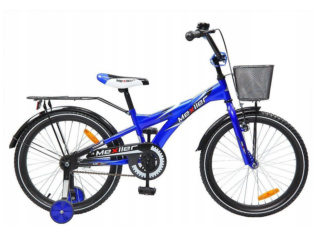 """Mexller dětské kolo BMX 20"""" modrá"""