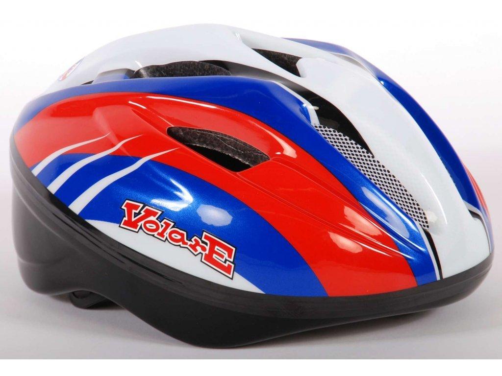 Dětská helma Volare Deluxe Blue