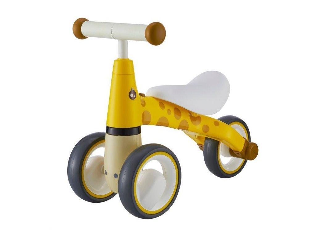 Ecotoys dětské odrážedlo Žirafa žluté