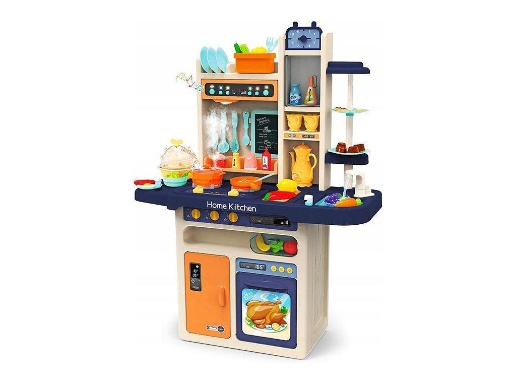 Doris dětská kuchyňka XXL se zvuky a tekoucí vodou-modrá