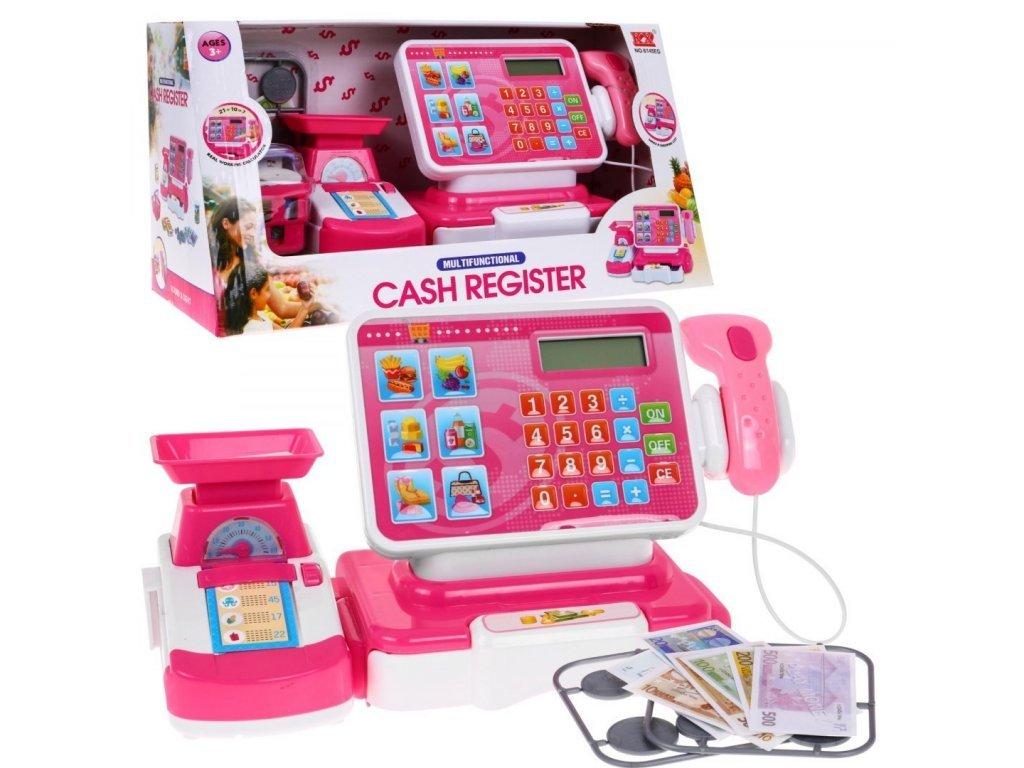 Majlo Toys dětská elektronická pokladna s váhou