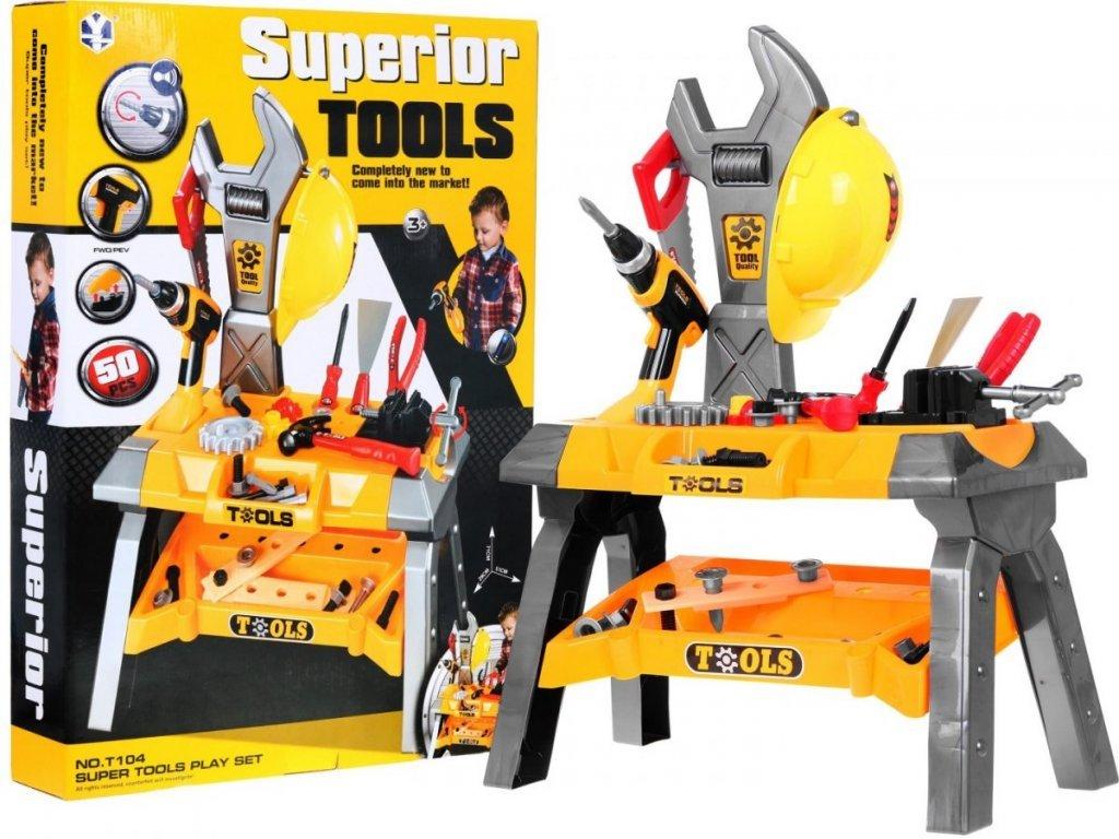Doris dětský pracovní stůl Super Tools