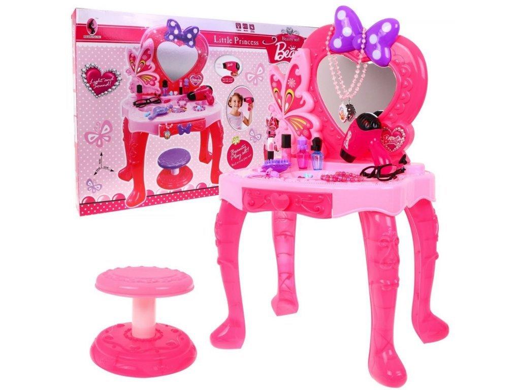 Majlo Toys dětský toaletní stoleček Little Princess