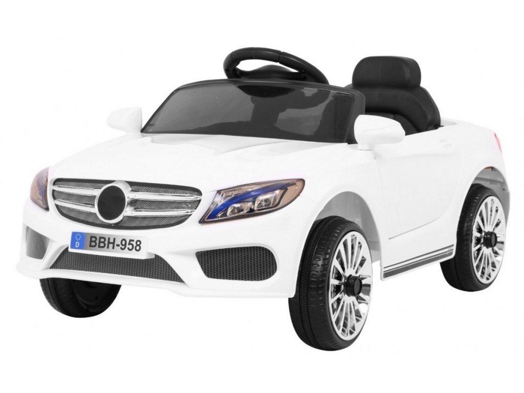 Dětské elektrické autíčko Best bílé